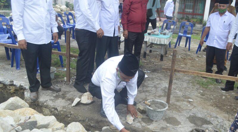 Peletakan Batu Pertama Pembangunan Rumah Tahfidz Qur'an MTsN Pematangsiantar